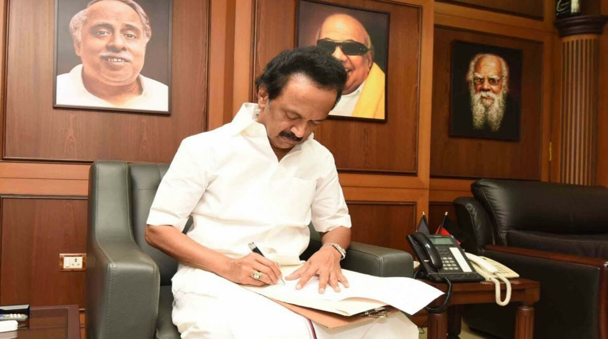 chennai-dmk-leader-m-k-stalin-signs-his-nomination-papers-for-the-post-of-party-president-at-the-party-office-in-chennai-on-aug-26-2018-dmk-will-hold-a-meeting-of-its-general-council-on-august-2