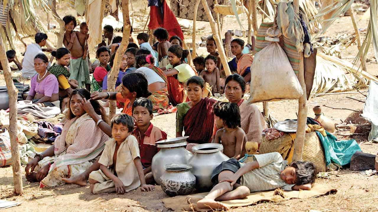 பட்டினி பிடியில் இந்தியா